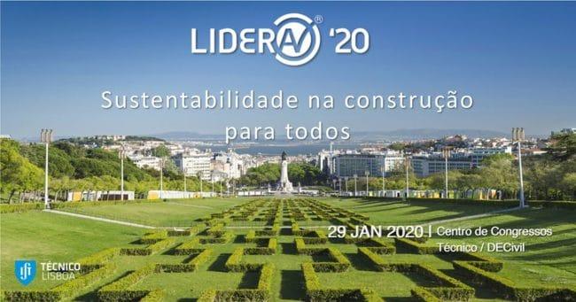 Lidera 20 - Congresso sobre sustentabilidade na construção